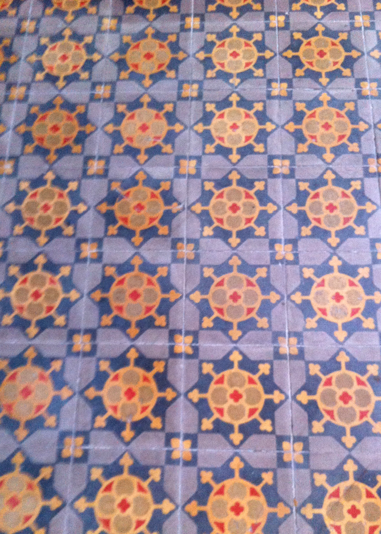 Spanish tile floors